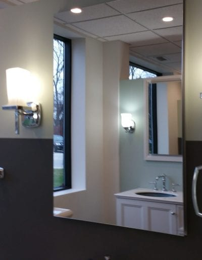Bathroom Accessories Mirror Lights and Handle Samples