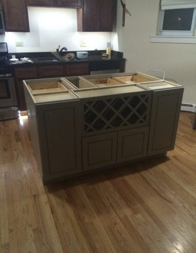 Kitchen Cabinet Refinish