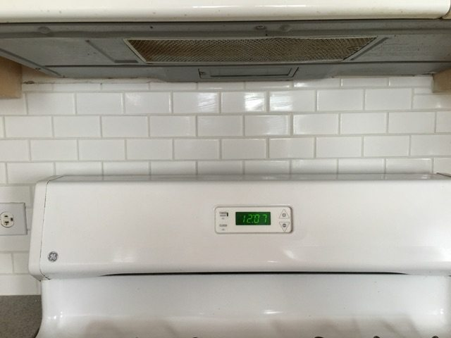 Subway Backsplash Kitchen Remodel