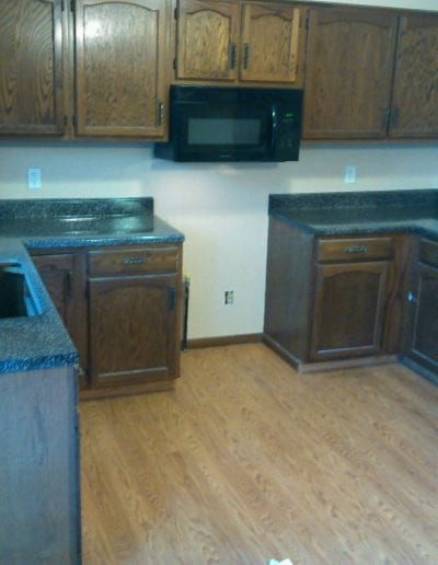 Before Kitchen Countertop Remodel