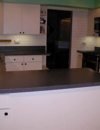 After Kitchen Countertop Remodel