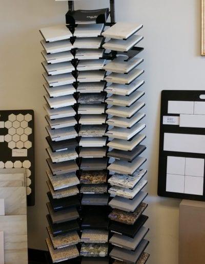 Showroom Tile Sample Tower