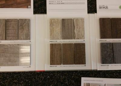 Small Wood Tile Sample
