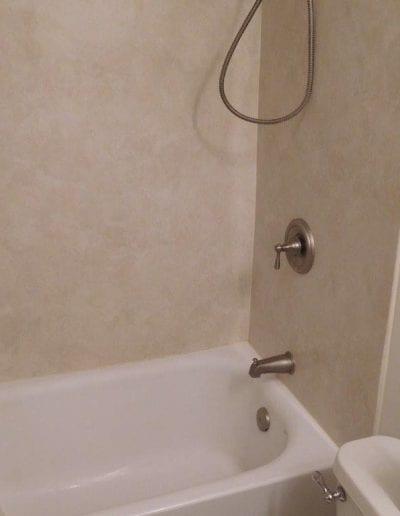 Bathroom Wall Tile and Bathtub