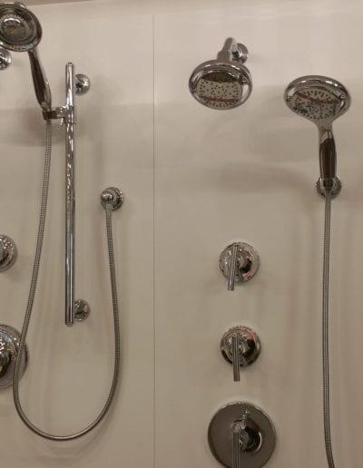 Shower and Bathtub Accessories Showcase