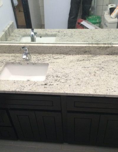 Full Bathroom Vanity and Sink