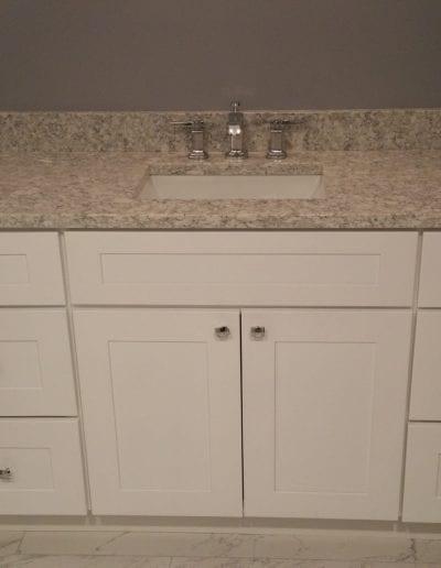 Sink and Vanity Countertop Remodel