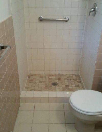 Shower Base Refinish