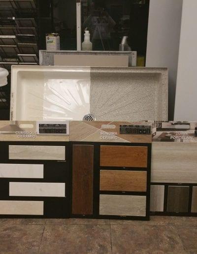 Large Wood Ceramic Tile Sample