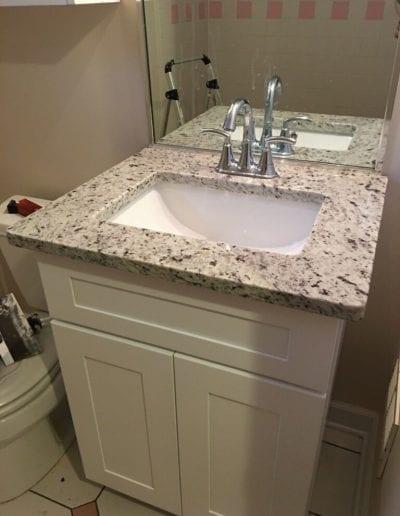 Vanity and Sink Remodel
