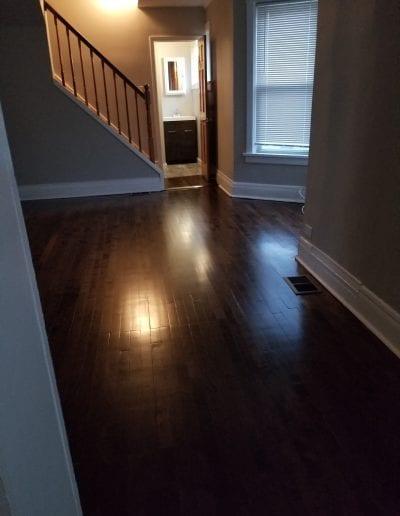 After Wood Floor Remodel