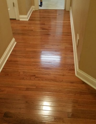 After Tile to Wood Floors