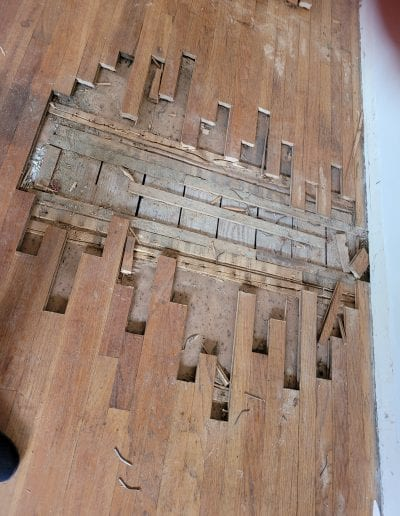 Wood Flooring Before