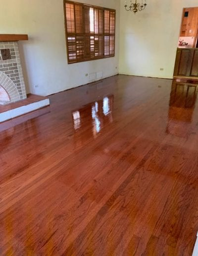 Wood Flooring After
